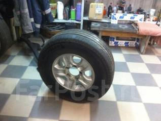 Колеса на LAND Cruiser 100, Michelin 275/70R16. x16