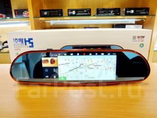 Зеркало-Видеорегистратор. Android 5.0. Экран 7. GPS/WI-FI/2 Камеры!