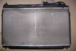Радиатор охлаждения двигателя. Honda Fit Aria
