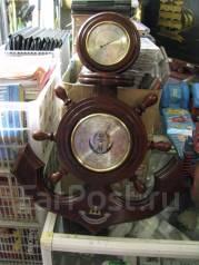 Барометр с гигрометром М-06 Якорь сувенир. Оригинал