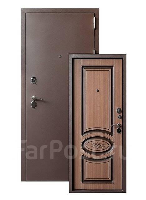 дверь металлическая входная стильная