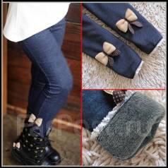 Лосины (джинсы) для девочки. Рост: 104-110, 110-116, 116-122, 122-128, 128-134 см