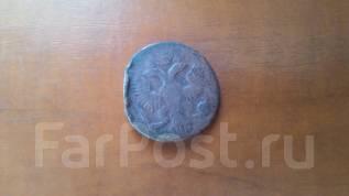 Продам или обменяю монету денга 1749г.