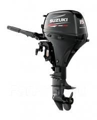 Suzuki. 15,00л.с., 4х тактный, бензин, нога S (381 мм), Год: 2016 год