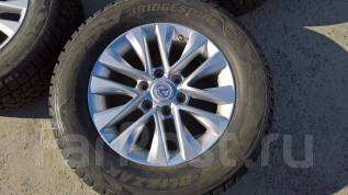����� GX460 2016 + ���� Winter Dueler DM-Z2 Bridge �� ������������. 8.0x18 6x139.70 ET25 �� 110,0���.