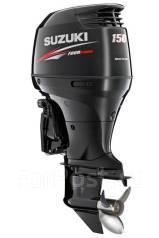 Suzuki. 150,00л.с., 4х тактный, бензин, нога L (508 мм), Год: 2016 год