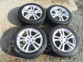 Продам комплект зимних колес 225/55R18. 8.0x18 5x114.30 ET35