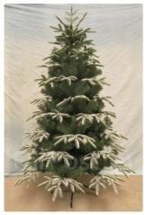 """Искусственная елка, украшена """"снежными лапами"""""""