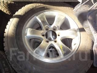 Отличные зимние шипованные колёса на литье Прадо 120 кузов 265/65R17!. 7.0x17 6x139.70 ET25