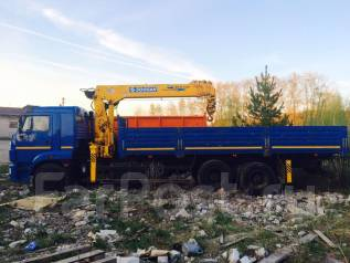 Soosan SCS 736. КМУ Камаз 65117 soosan scs 736, 8 900 куб. см., 6 000 кг., 17 м.