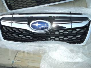 Решетка радиатора. Subaru Forester, SJ, SJG, SJ5 Двигатели: FB25, EJ20E, FB20, FA20, EJ20A