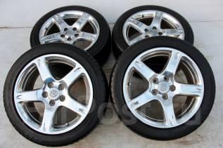 Колёса с шинами =Toyota Aristo= R17! 2012 год! 6 мм (№ 47685). 8.0x17 5x114.30 ET50