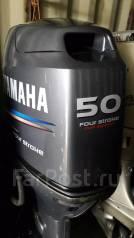 Yamaha. 50,00л.с., 4х тактный, бензин, нога L (508 мм), Год: 2007 год