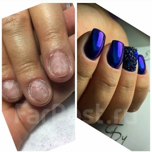 Дизайн ногтей гель лака с укреплением