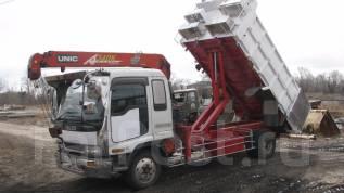 Isuzu Forward. Продается грузовик isuzu forward самосвал с манипулятором в Свободном, 8 226 куб. см., 7 000 кг.