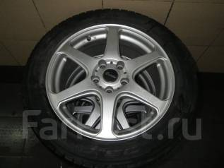 Зимние колеса Dunlop 215/55R17. 7.0x17 5x114.30 ET38
