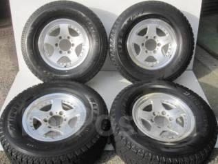 Отличная зима Bridgestone DM-Z3 265/70/16 на оригинальных Berg 20/7/16. 7.0x16 6x139.70 ET20
