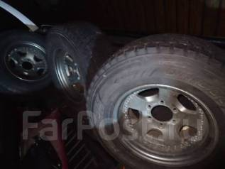 Комплект зимней Bridgestone DMZ 265/70/16 на ковке Work -13/8/16. 8.0x16 6x139.70 ET-13