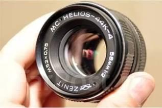 Объектив MC Helios 44K-4 58mm 1:2 (для Pentax) как новый. Для Pentax, диаметр фильтра 52 мм