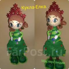 Кукла-Елка.