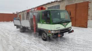 Hino Ranger. Продам бортовой грузовик с манипулятором., 8 000 куб. см., 5 000 кг.