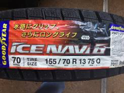 Goodyear Ice Navi 6. Зимние, без шипов, без износа, 4 шт