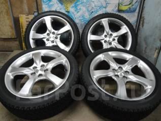 Продам отличные Стильные под Чёр. Хром Subaru Legacy+Зима 215/45R17. 7.0x17 5x100.00 ET55