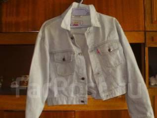 Куртки джинсовые. 50, 52