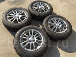 175/70 R14 Bridgestone Revo2 литые диски 4х100 (К6-1411). 5.5x14 4x100.00 ET42
