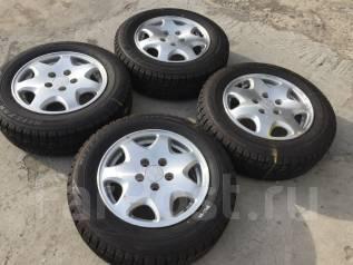 195/65 R15 Bridgestone Revo GZ литые диски 5х114.3 (К6-1508). 6.0x15 5x114.30 ET45