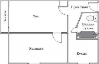 2-х комнатную квартиру Обменяю на 4-х комнатную. От частного лица (собственник)