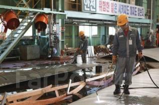 Рабочий. Металлоплавильный завод в Южной корее. И.П.Им. Улица Административный Городок 1