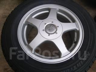 Продам комплект зимних шин 195/65R15 на литых дисках. x15 5x100.00, 5x114.30 ET48 ЦО 72,0мм.