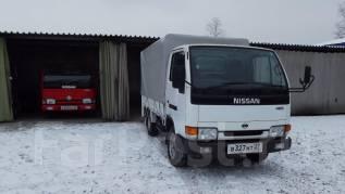 Nissan Atlas. С аппарелью односкатник, 2 700 куб. см., 1 500 кг.