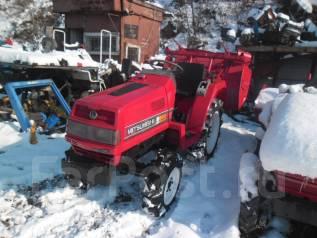 Mitsubishi. Трактор MT16: 4wd, ВОМ, фреза, 16 л. с
