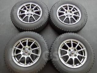 Литые диски R14 с зимними шинами 185/70R14 88Q Bridgestone VRX. 5.5x14 4x100.00 ET38. Под заказ
