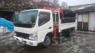 Mitsubishi Canter. Продам отличный грузовик с манипулятором и аппарелью 3,2 т / 2,6 т, 4 899 куб. см., 3 200 кг.
