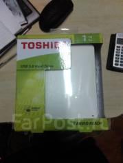 Внешние жесткие диски. 1 000 Гб, интерфейс Sata 3.0