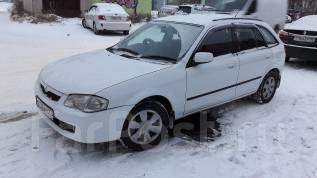Mazda Familia S-Wagon. автомат, 4wd, 1.5 (110 л.с.), бензин, 125 000 тыс. км