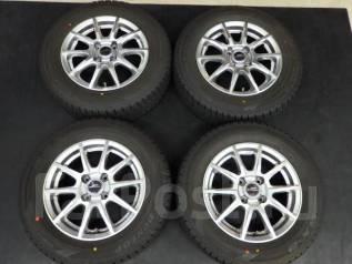 Литые диски R14 с шинами 175/70R14 84Q Dunlop DSX-2. 5.5x14 4x100.00 ET48. Под заказ