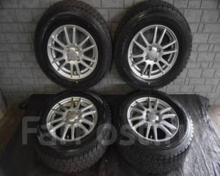 Литые диски R14 с зимними шинами 185/70R14 88Q Dunlop Winter Maxx. 5.5x14 4x100.00 ET42 ЦО 73,0мм. Под заказ