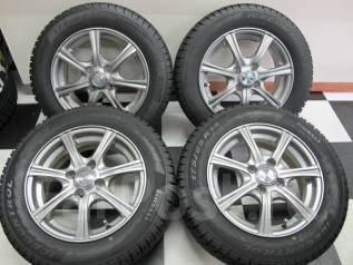 Литые диски R14 с зимними шинами 175/65R14 82Q Pirelli Winter Ice Cont. 5.5x14 4x100.00 ET38 ЦО 67,0 мм.