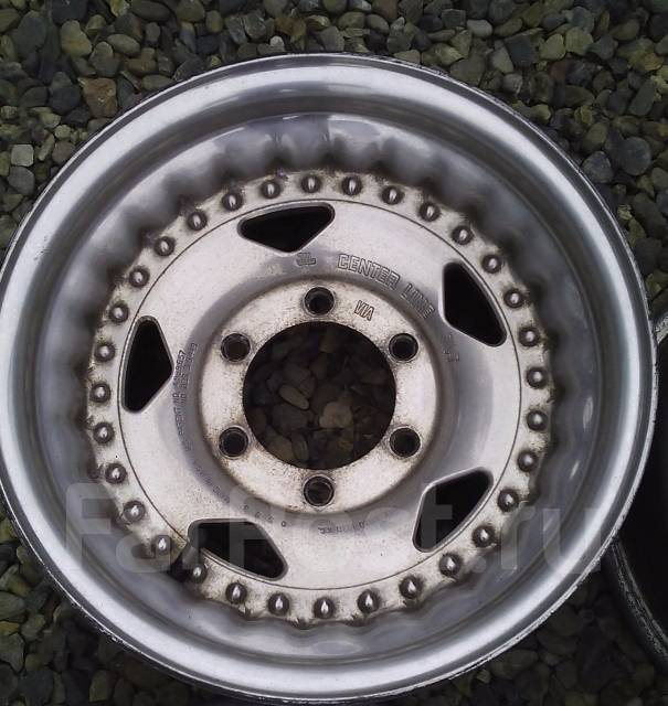 Centerline Wheels. 8.0x15, 6x139.70, ET-14, ЦО 110,0мм.