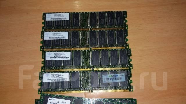 Лот №2. Оперативной памяти 12 планок DDR1 256Mb с рубля