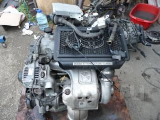 Двигатель. Toyota Caldina, ST215 Двигатель 3SGTE
