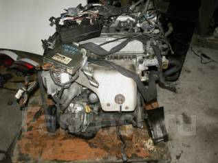 Двигатель. Toyota Corona, ST191 Двигатель 3SFE