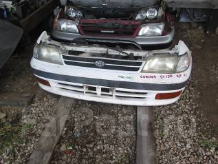 Радиатор охлаждения двигателя. Toyota Corona, ST190 Двигатель 3SFE