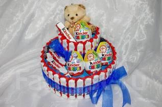Торт из киндеров. Сладкий подарок. Под заказ