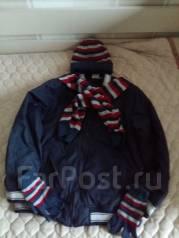 Шапка, шарф и перчатки. Рост: 128-134, 134-140 см