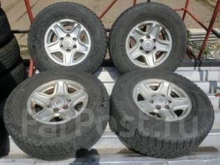 Не Китай ! Отличные Bridgestone DM-V1 265/70/16 на литье Prado 15/7/16. 7.0x16 6x139.70 ET15